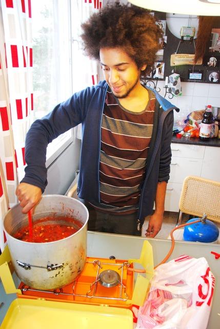 Lagar vegansk chili