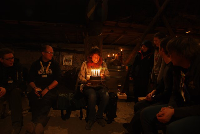 Födelsedagsfest i det Keltiska huset