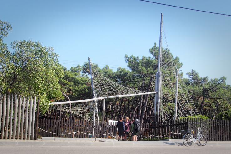Entren till Sao Jacinto Scout Center
