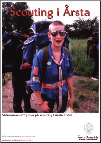 Miniorrekryteringsaffisch 2009